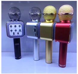 microphones dirigés Promotion Usine direct nouvelle configuration WS1818 microphone basse basse assurance de la qualité d'écoute doré noir argent gris or rose