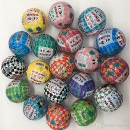 caja de bricolaje muñeca Rebajas Doll Toys Blind Box Figuras Juguetes 10CM Ball Hairgoals Series 5 12PACK 12pcs / package Regalos de Navidad