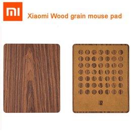 100% Original inteligente Mi Início rato escritório almofada Natural Grain Mouse Pad Ultra Slim Anti Slip Design for CS CF Jogo de