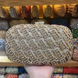 Bolso de noche champán dorado online-Xiyuan negro / oro / champán de la boda embrague billetera ahueca hacia fuera el bolso de la cena dama marca de diseño bolso de fiesta por la noche