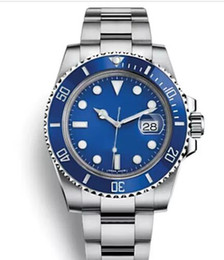 Relógios mens on-line-Top Cerâmica Bezel Mens relógios automáticos Luxusuhr orologi da donna di lusso relógio suíço de luxo com logotipo
