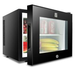 Canada 20L chambre d'hôtel avec petit réfrigérateur petit mini transparent affichage vertical congélateur silencieux petit congélateur 46.0 * 48.0 * 41.0 cm Offre