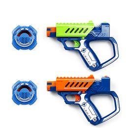 Arma elétrica kid on-line-Silverlit 15 M módulo de reforço arma laser Sniper gun assembléia brinquedos BATALHA OPS Gun Boy infravermelho brinquedo elétrico para crianças presentes das crianças