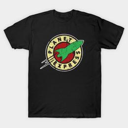Canada T-shirt à manches courtes Planet Express pour hommes Offre