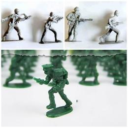 Modelos de guerra mundial on-line-Segunda Guerra Mundial Soldado Modelo Toy Simulação De Plástico Pouco Homem Boneca Presente Da Criança Anti Desgaste Pequeno Requintado 10 5jc I1