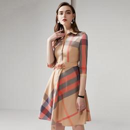 abbigliamento swing Sconti Camicette, abiti, abiti medi da donna, abiti primaverili ed estivi, nuovi prodotti, risvolti in cotone, gonne a quadri altalena, ingrosso