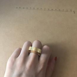 Bandas anulares on-line-nova moda de largura de banda inoxidável anéis oco, mulheres carrega anéis Anillo oso