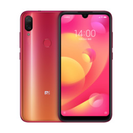 cdma dual sim smartphone Скидка 6 ГБ 64 ГБ Xiaomi Mi Play 5,84 дюйма 19: 9 полный экран FHD + 4G LTE Octa Core Helio P35 Задний отпечаток пальца GPS 12MP Двойная камера 3000 мАч Смартфон