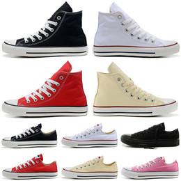 White women s canvas shoes slip on-line-Converse 2019 sapatas de lona do desenhador sapatilhas de skate homens mulheres de alta qualidade 1970 s preto branco azul marinho vermelho moda slip on casual skate shoe