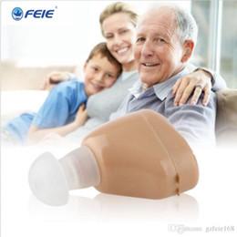 Sıcak ve yeni ürün !! Kulak amplifikatör S-219 mini işitme sağırlık yardım için şarj edilebilir Şarj damla nakliye nereden