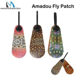 Accessoires naturels bon marché en Ligne-Maximumcatch Natural Amadou Fly Séchage Patch Haute Absorbant Accessoire Outils De Pêche Outils De Pêche Pas Cher