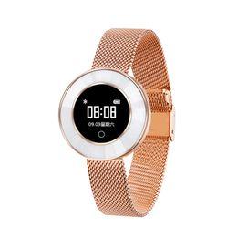 2019 дешевые часы bluetooth smart X6 смарт-часы Спорт группа браслет Браслет IP68 Водонепроницаемый сердечного ритма артериального давления шагомер фитнес-активности трекер с подарочной коробке