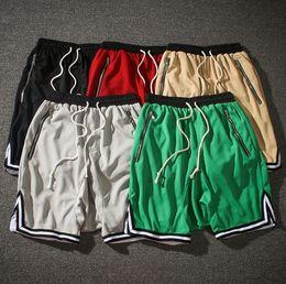 camisola de harém de mulheres harem Desconto Medo de deus quinto coleção shorts homens mulheres tarja bolsos com zíper na altura do joelho harem calças curtas sportswear hip hop curto