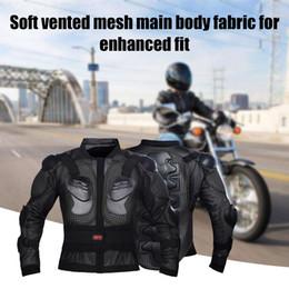 2019 off armadura de estrada Racing Gear Jacket Brasão Knight Equipment Anti-Vestuário Moto Racing Gear Jacket Brasão Armadura Off-road Protection desconto off armadura de estrada