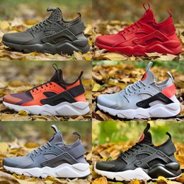 2018 hot sale Nike Air Huarache IV 4 super high quality designer shoes men and women breathable comfortable sports shoes multicolor size 36-46 desde fabricantes