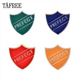 Encomendar broches on-line-T Letters escudo em forma de lapela pinos coloridos esmalte Sir Broches Vermelho, Verde, Azul, Laranja emblema colorido moda jóias 1 ordem
