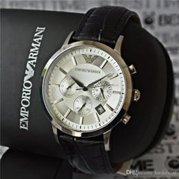 observa tendências Desconto Luxo Homens Relógio Automático De Quartzo Simples Fashion Trend Business Casual Leather Strap Grande Dial Sport Style Relojes Hombre