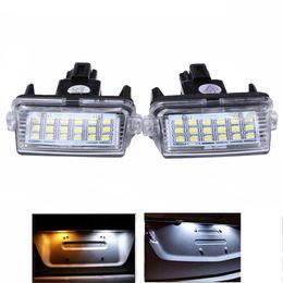 2 PCS 18 Kit de Luz de Placa de Licença LED Canbus para Toyota Camry Yaris Corolla Avensis de