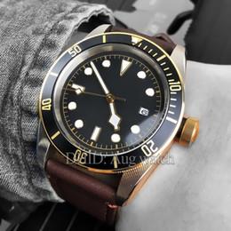 Blume leder uhr online-Luxus herrenuhren designer watch rote blume import miyota mechanische automatische uhren 316l stahluhren lederband männer uhr