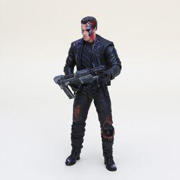 Argentina Anime The Terminator T -800 Arnold Schwarzenegger Pvc figura de acción de colección Modelo de juguete Tamaño en 7