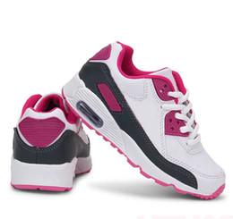 2019 nouvelles chaussures à glissière pour garçons 2019 Nouveau Casual Sport Enfants Chaussures Baskets Enfants Chaussures De Course Bas mou Respirant Bébé Chaussures M258
