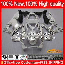 Honda cbr 929 rr verkleidungen online-Bodys Repsol Silber für HONDA CBR 929RR 900 929 RR CC 900cc 929CC 900RR 76HC.13 CBR929RR CBR900RR CBR929 CBR900 RR 2000 2001 00 01 Verkleidungs