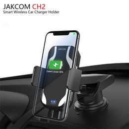 laptop gadgets Promo Codes - JAKCOM CH2 Smart Wireless Car Charger Mount Holder Hot Sale in Cell Phone Chargers as car holder suction laptop computers gadget