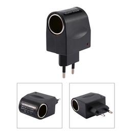 Briquet ca en Ligne-110-240V AC à 12V DC 500mA adaptateur allume-cigare convertisseur US / EU Plug Livraison gratuite