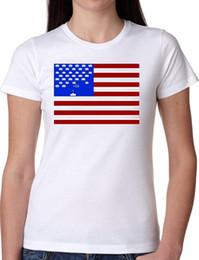 juegos de chica americana Rebajas CAMISETA JODE GIRL GGG27 Z0551 VIDEO JUEGO VINTAGE BANDERA AMERICANA RAYAS DIVERSIÓN FASHI Hombres Mujeres Unisex Camiseta de moda Envío Gratis Divertido