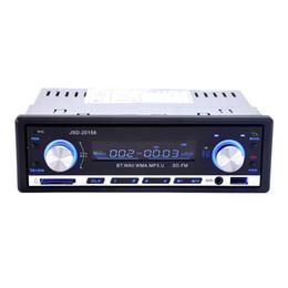 Vista de pantalla azul online-JSD-20158 universal DVD del coche de MP3 multifunción de DVD incorporado en manos libres Bluetooth FM función del vehículo - Blcak