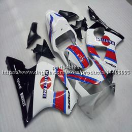Hediyeler + Özel kırmızı beyaz siyah motosiklet tekne Honda CBR954RR 2002-2003 CBR 954RR 98 99 Için ABS plastik motor Fairing kiti nereden