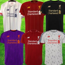 f20aff443 Discount football new jersey - New 19 20 VIRGIL red Soccer Jersey 2019 2020  FIRMINO tops