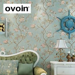 Vintage-stil Tapeten Schlafzimmer Online Großhandel ...