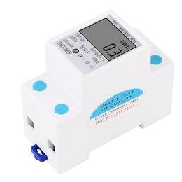 Analisador do medidor do volt do watt ampère do consumo de potência do SINOTIMER de