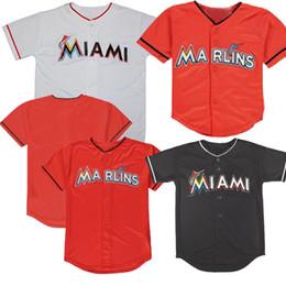 2020 don mattingly jersey Baby Miami 2019 Starlin Castro Jersey Don Mattingly Lewis Brinson J.T. Realmuto Martin Prado Brian Anderson Martin Camisetas de béisbol infantiles rebajas don mattingly jersey