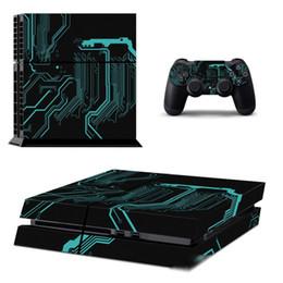 Игровые консоли скины онлайн-PS4 наклейки игра защита хозяина консоли PlayStation 4 FILM игровой консоли пленки кожа sticke украшение хоста