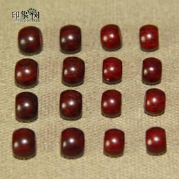 contas de jacarandá Desconto 6 * 8/7 * 9 MM Natural Rosewood Cilíndrico Contas DIY Pulseira Colar de Jóias Makings 2414