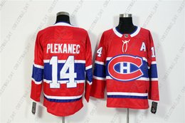c4cf65250 Cheap Custom Men's Montreal Canadiens 14 Tomas Plekanec Red Home Hockey  Jersey Personality stitching custom any name number XS-5XL