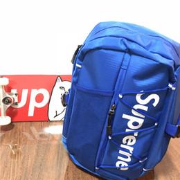 supreme backpack Kadınlar Öğrenci Sırt İçin Okul çantaları Seyahat Açık Harf Baskılı Doxford Çift Omuz Çantası Lüks İle Yeni Tasarımcılar Sırt Çantası nereden