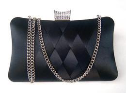Tissage plus proche en Ligne-Nouveau sac tissé pour femmes avec sac à diamants en diamants tissé à la main, en soie, en soie, sac de rangement ajusté à l'épaule
