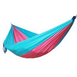 Amaca di paracadute di nylon di alta qualità prezzo economico di alta set campeggio amaca Swing Bed, 270 * 140CM da