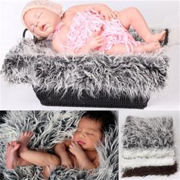 2019 prop Coperta per fotografia per bambini Studio fotografico Ritratto Prop Coperte di alta qualità Peluche Morbido stile di moda carino per neonato quattro stagioni 11jsH1