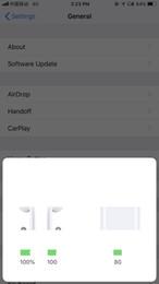 Canada Détection H1 Puce W1 Animation air casque pods 2 oreillettes Bluetooth écouteurs oreille qualité sans fil bourgeons casque pour iphone 6 x x écouteurs Offre