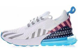 2019 foto läuft Nike air max 270 Weltmeister Frankreich Bruce Lee Teal Triple Schwarz Weiß Hot Punch Foto Blau Herren Laufschuhe Damen Sport Sneakers günstig foto läuft