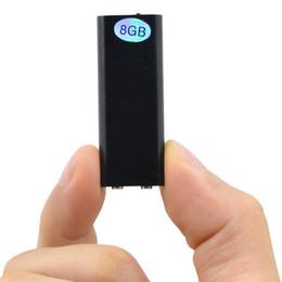 flash player mp3 Desconto CHIPAL Gravador de Voz Global Menor 8 GB Gravador Profissional de Áudio Digital Mini Ditafone + MP3 Player + USB Flash Drive