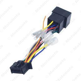 Cableado del conector iso online-Adaptador de mazo de cables PI100 de radio estéreo de coche ISO PI100 para Pioneer 2003-on para el conector de cable de Volkswagen en el cable del automóvil # 2365