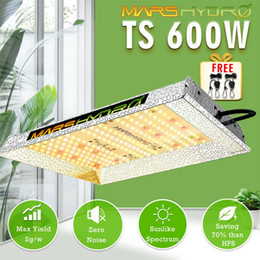 luzes hp Desconto Mars Hidro TS 600W LED Grow Light Sunlike Full Spectrum Lamp Indoor Veg HPS HID