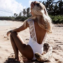 2020 badeanzüge tankini vintage Women's Beachwear Ladies Bodysuit Vintage Lace Bikini Sets Beach Swimwear Bathing Suit Fancinating Women's Swimsuits Tankini günstig badeanzüge tankini vintage