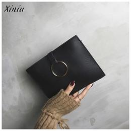 2019 bolsas de estilo s La bolsa de Xiniu Mini bolsos femeninos manera mujeres del estilo de cuero simple de la Ronda bolsos del mensajero del bolso del embrague de las muchachas ocasionales bolsas de estilo s baratos