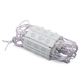 lente da lâmpada led Desconto AC 220 V AC 110 V de Alta Tensão SMD3030 3 LEDS Módulo de Injeção LED Módulo de Sinal de Luz LED Com Lente Redonda 1.5 W 150lm